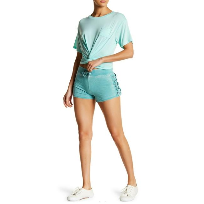 Preload https://img-static.tradesy.com/item/24926188/poof-couture-beach-blue-burnout-lace-up-detail-shorts-size-12-l-32-33-0-0-650-650.jpg