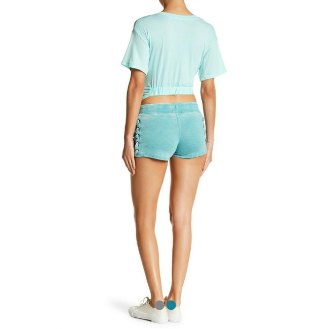 Poof Couture Mini/Short Shorts Beach Blue Image 1