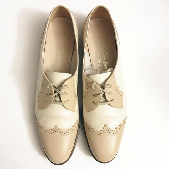 Salvatore Ferragamo cream white Flats Image 1