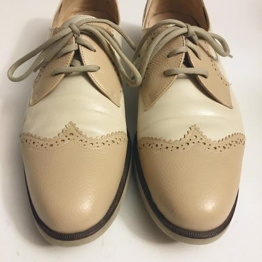 Salvatore Ferragamo cream white Flats Image 2