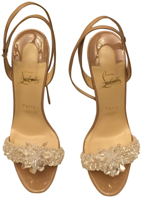 Item - Nude Crystal Queen Formal Shoes Size EU 41.5 (Approx. US 11.5) Narrow (Aa, N)