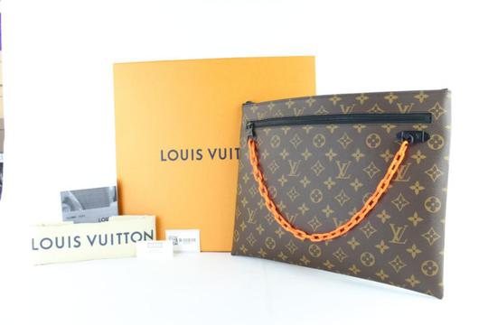 Louis Vuitton Virgil Lv Supreme Abloh Off-white Ss19 Wristlet in Brown Image 1