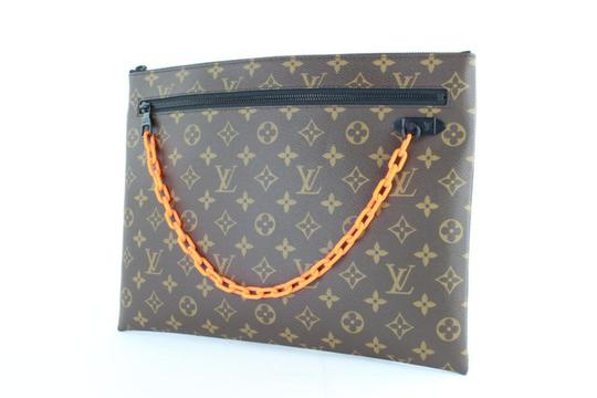 Louis Vuitton Virgil Lv Supreme Abloh Off-white Ss19 Wristlet in Brown Image 8