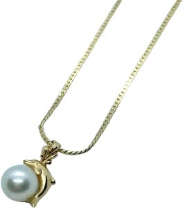 NA 14k Pearl Necklace