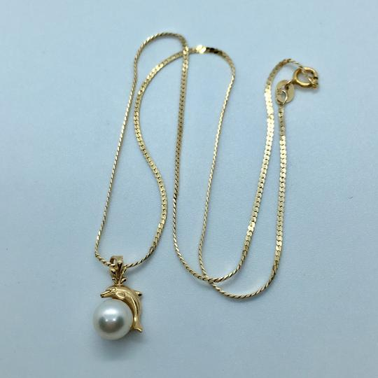 NA 14k Pearl Necklace Image 1