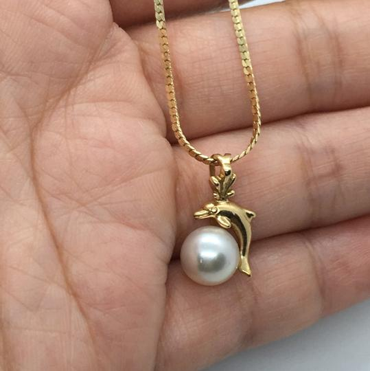 NA 14k Pearl Necklace Image 2