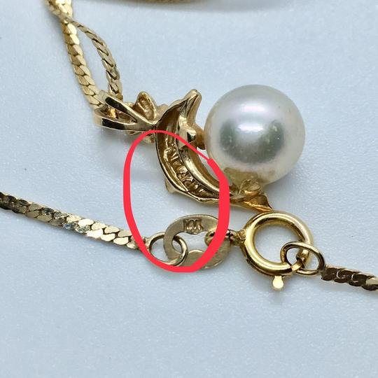 NA 14k Pearl Necklace Image 3