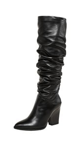 Stuart Weitzman Leather Black Boots