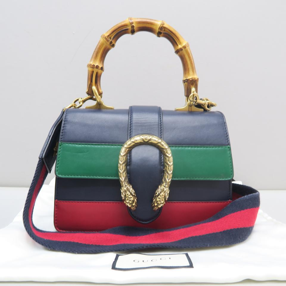 6b331b32d244 Gucci Small Dionysus Leather Top Handle Satchel in multicolor Image 11.  123456789101112