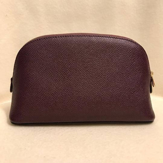Dolce&Gabbana Textured Leather Cosmetic Bag Pouch Case Image 1