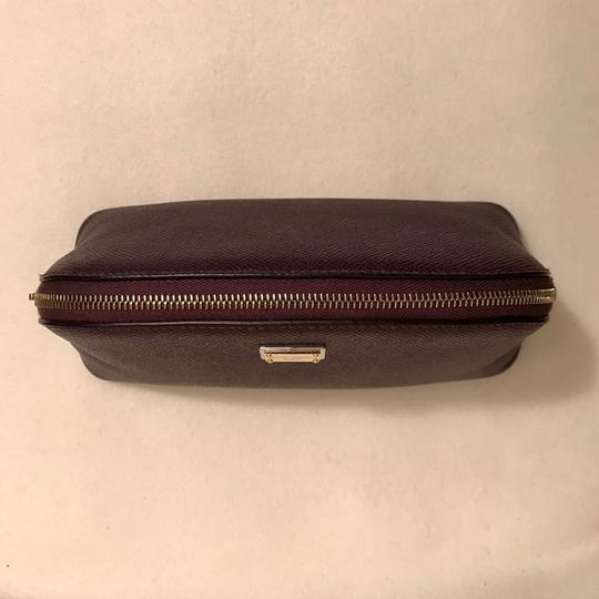 Dolce&Gabbana Textured Leather Cosmetic Bag Pouch Case Image 3