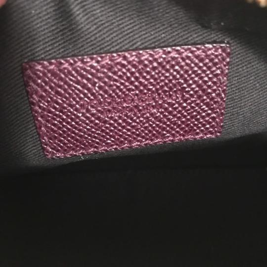 Dolce&Gabbana Textured Leather Cosmetic Bag Pouch Case Image 9
