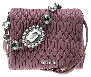 Miu Miu Cross Body Bags - Up to 90% off at Tradesy 87f66feebaeac