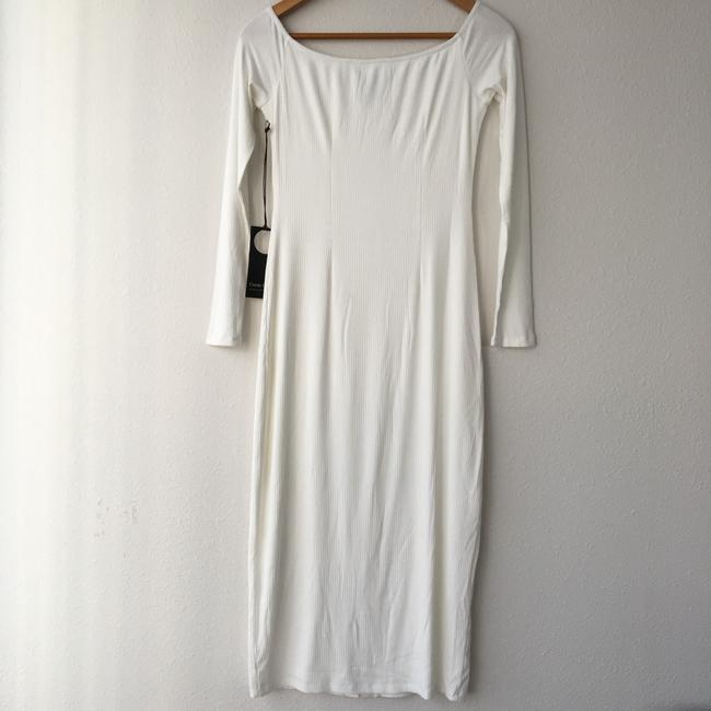 Ivory Maxi Dress by Privacy Please Image 3