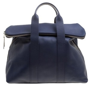 3.1 Phillip Lim Leather Tote in Blue