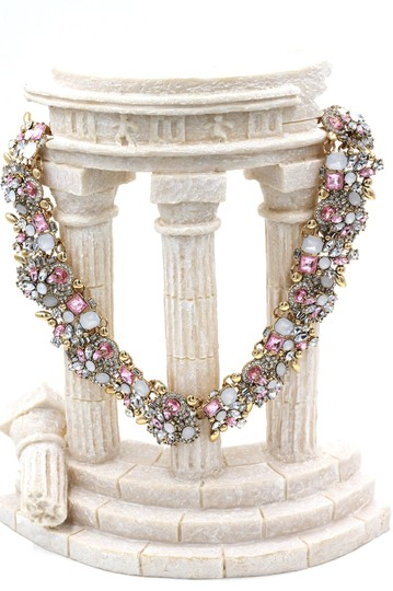 Ocean Fashion Fashion beautiful pink crystal necklace Image 4