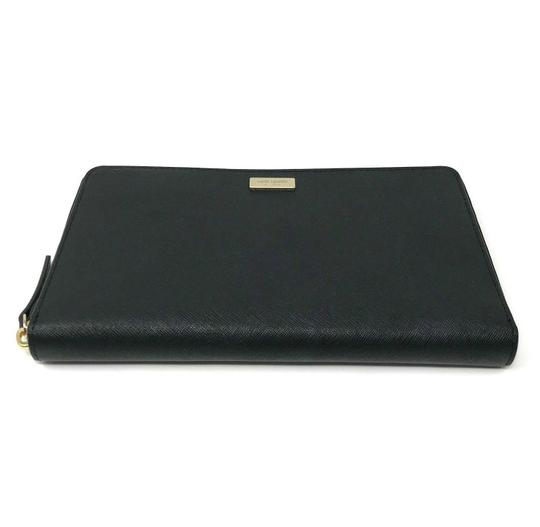 Kate Spade Kate Spade Laurel Way Kaden Travel Wallet Organizer Black Leather Image 1