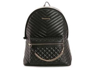ALDO Chic European Style Leather/Gold Two Prints Italian Made Backpack/Wallet Backpack