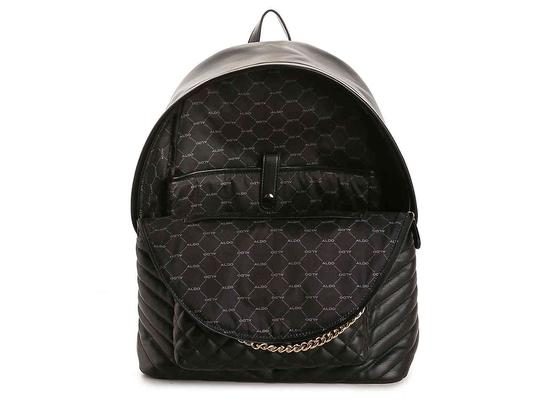 ALDO Chic European Style Leather/Gold Two Prints Italian Made Backpack/Wallet Backpack Image 3