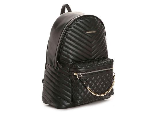 ALDO Chic European Style Leather/Gold Two Prints Italian Made Backpack/Wallet Backpack Image 4