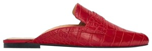Zara red Mules