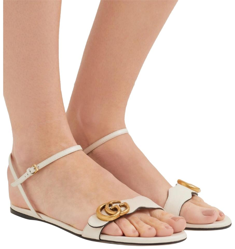 aa7b33a0378f Gucci Marmont Leather Sandals Size EU 36 (Approx. US 6) Regular (M ...