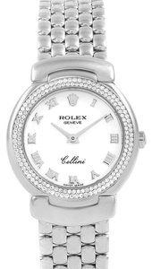 Rolex Rolex Cellini Cellissima 18K White Gold Diamond Ladies Watch 6671