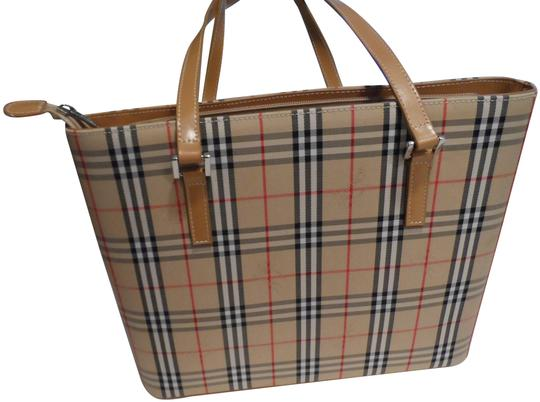Burberry London Tote in Tan Image 0