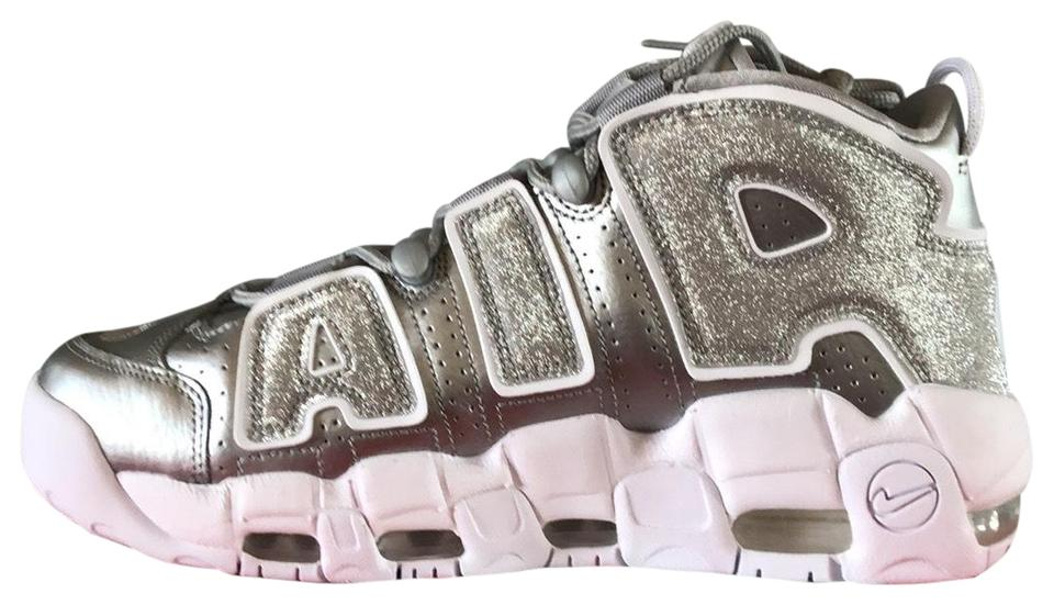 c91c62f4916b Nike Metallic Silver W Air More Uptempo Sneakers Size US 10.5 ...