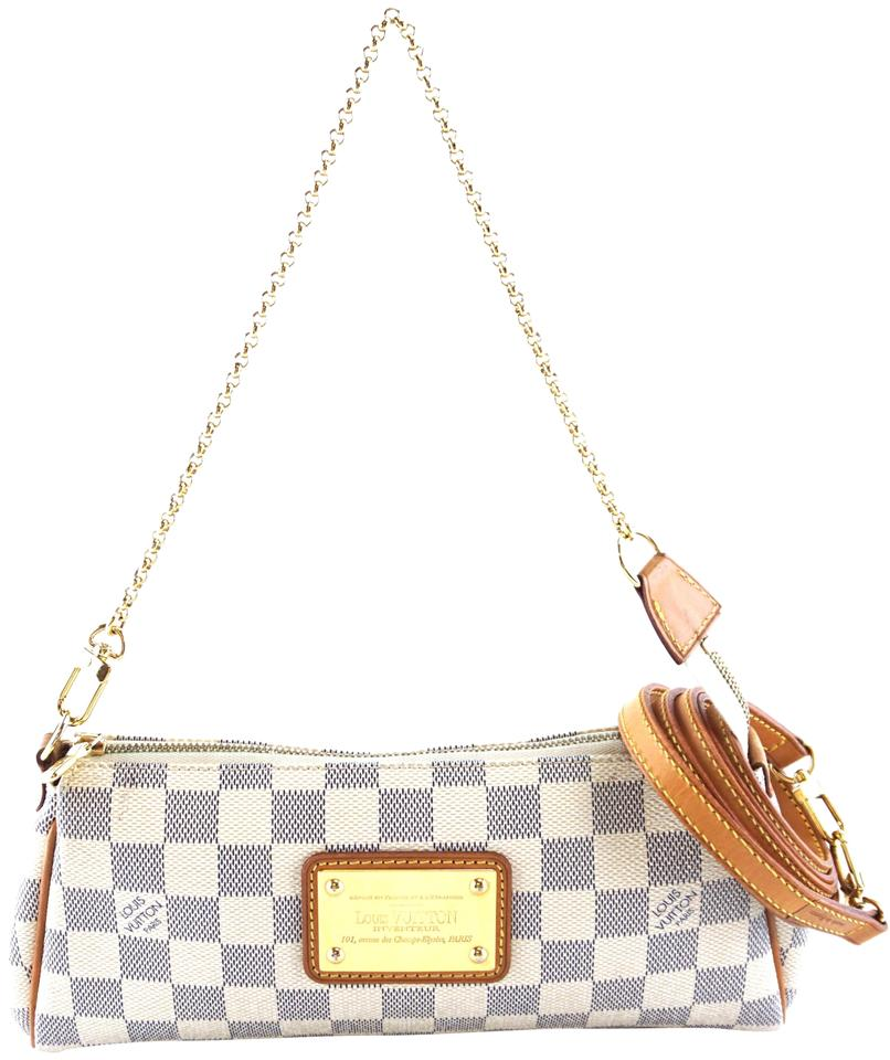 444476902645 Louis Vuitton Eva  27197 Discontinued Clutch Two Way Cosmetic ...