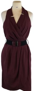 wine Maxi Dress by Max and Cleo