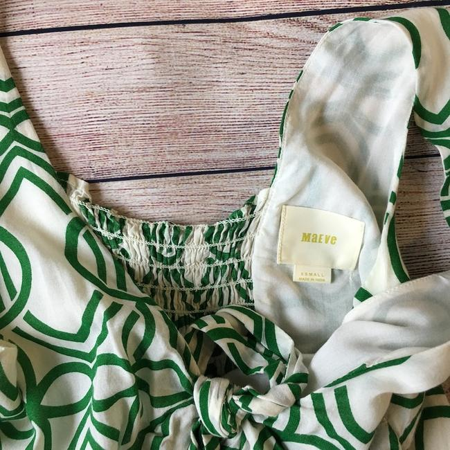Anthropologie Top Green Image 4