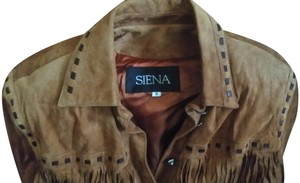 Siena Studio Tan Leather Jacket