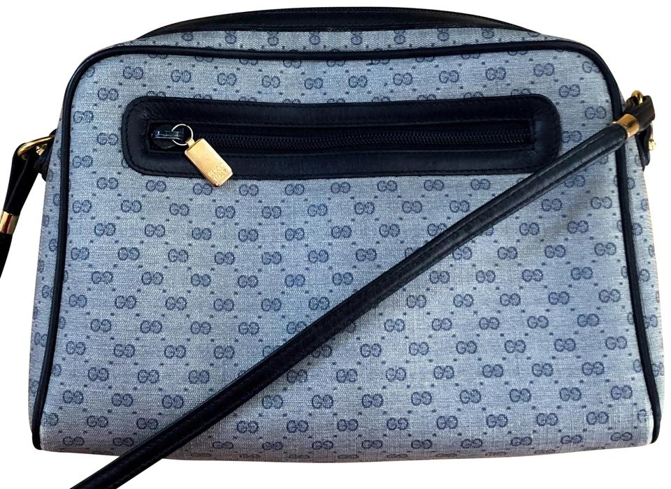 78c0c1d1292a Gucci Made In Italy Vintage Leather Micro Gg Cross Body Bag Image 0 ...