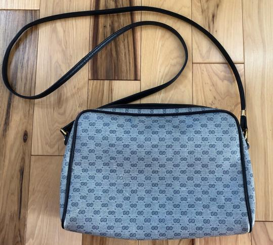 Gucci Made In Italy Vintage Leather Micro Gg Cross Body Bag Image 1