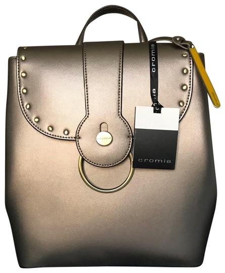 Preload https://img-static.tradesy.com/item/24929125/cromia-made-in-italy-steel-calfskin-leather-backpack-0-1-540-540.jpg