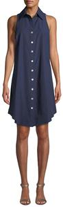 Finley short dress Navy blue on Tradesy
