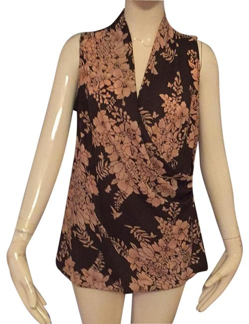 Item - Brown Dusty Pink Blouse Size 6 (S)