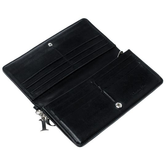 Dior Cannage Leather Lady Dior Flap Wallet Image 4