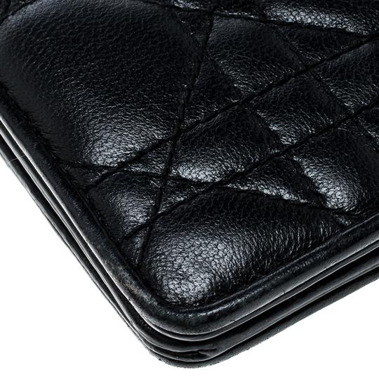Dior Cannage Leather Lady Dior Flap Wallet Image 6