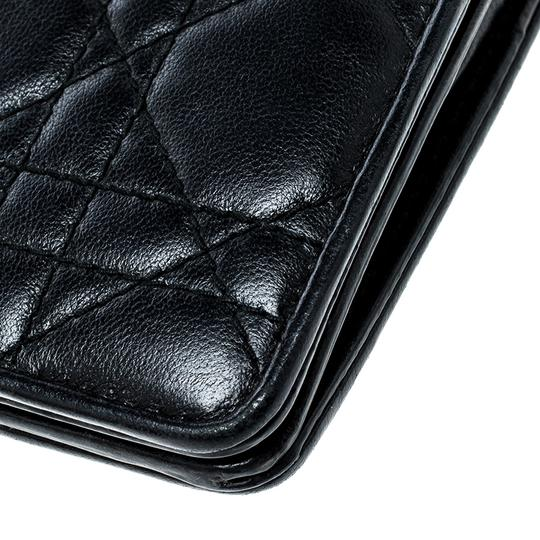 Dior Cannage Leather Lady Dior Flap Wallet Image 7