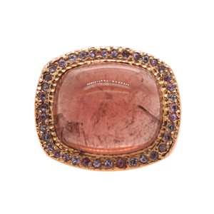 Other 14K Rose Gold Vintage Tourmaline Cocktail Ring #18505