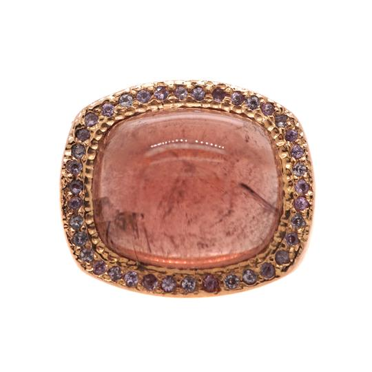 Preload https://img-static.tradesy.com/item/24929484/pink-14k-rose-gold-vintage-tourmaline-cocktail-18505-ring-0-0-540-540.jpg