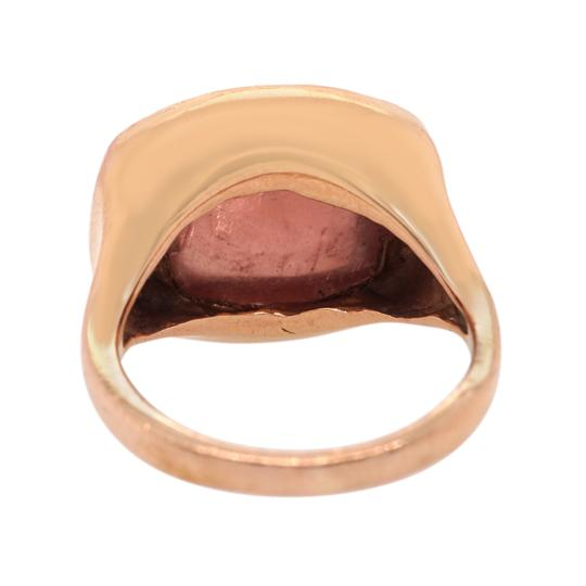 Other 14K Rose Gold Vintage Tourmaline Cocktail Ring #18505 Image 3