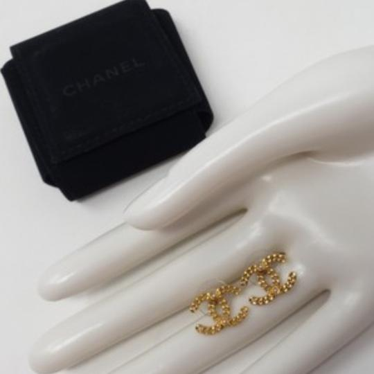 Chanel Chanel Gold Chain Earrings Image 2