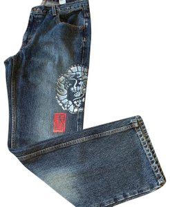 DKNY Boot Cut Jeans-Distressed