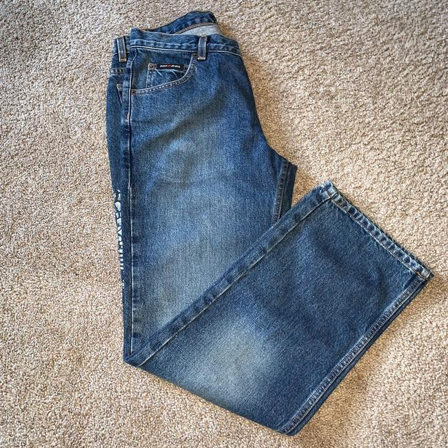 DKNY Boot Cut Jeans-Distressed Image 10
