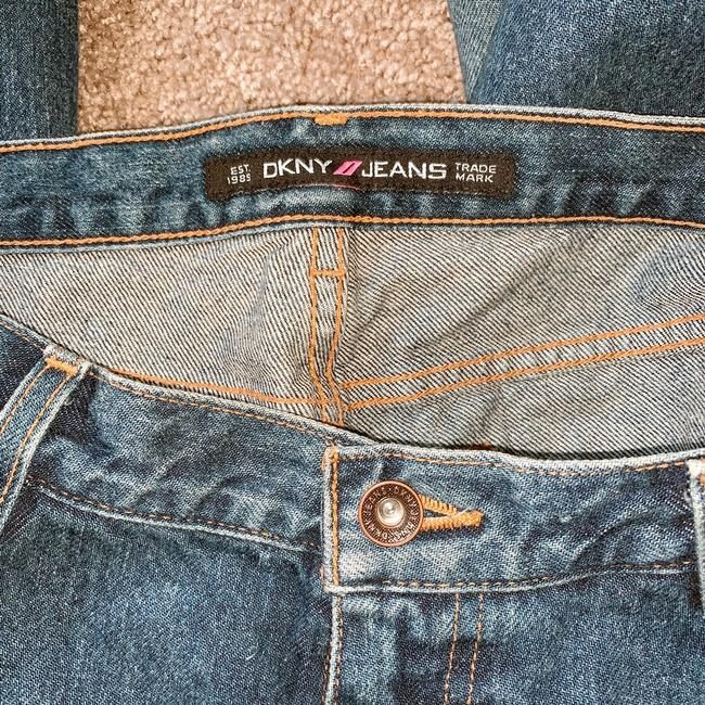 DKNY Boot Cut Jeans-Distressed Image 4