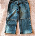 DKNY Boot Cut Jeans-Distressed Image 6
