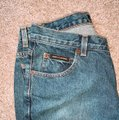 DKNY Boot Cut Jeans-Distressed Image 7